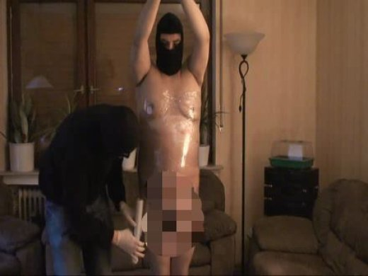 Amateurvideo slaveO - folien bondage  from DER_BULLE