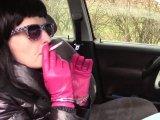 Amateurvideo Das Rauchen von Zigaretten in Handschellen IV. from bondageangel