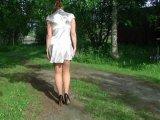 Amateurvideo In FSH auf Heels von sexyengel
