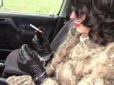 Amateurvideo Rauchende Zigarette in Handschellen 5. von bondageangel