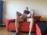 Amateurvideo Carmen Suck and Fuck POV auf der Couch von AmateureAustria