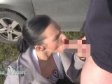 Amateurvideo Outdoor Cumshot von SinaVelvet