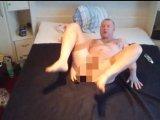 Amateurvideo Mein 30cm Gummischwanz ** Antesten ** from nylonjunge