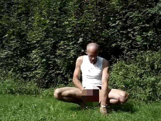 Amateurvideo Zeige mich im Freien! von Spritzindich