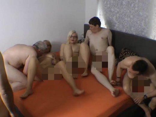 Amateurvideo FKK 6er Gruppensex von SusiNRW