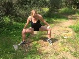 Amateurvideo Outside Stretching from BunNyna