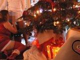Amateurvideo Creampie vom Weihnachtsmann von SexyLeni