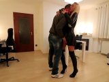 Amateurvideo ONE NIGHT STAND Schlampe! 3Loch Fickstute bekommt XXL Sperma von Daynia