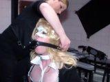 Amateurvideo Sissy Slave - Vorstellung für Mariella Sun von LadyDoro