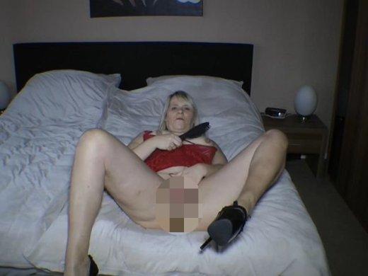 Amateurvideo Blonde lange Haare von SusiNRW