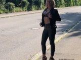 Amateurvideo Straßenflittchen! Ich steig zu jedem ins Auto! von Daynia