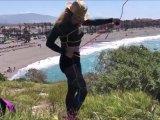 Amateurvideo SelfRopeArt in Salobreña von ProfeHera