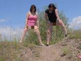 Amateurvideo Outdoor gemeinsam abgepisst von susi191