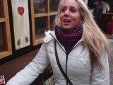Amateurvideo Public-Fick Mitten auf dem Weihnachtsmarkt from Annabel_Massina