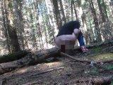 Amateurvideo Endlich! Im Wald pinkeln from FraeuleinJones